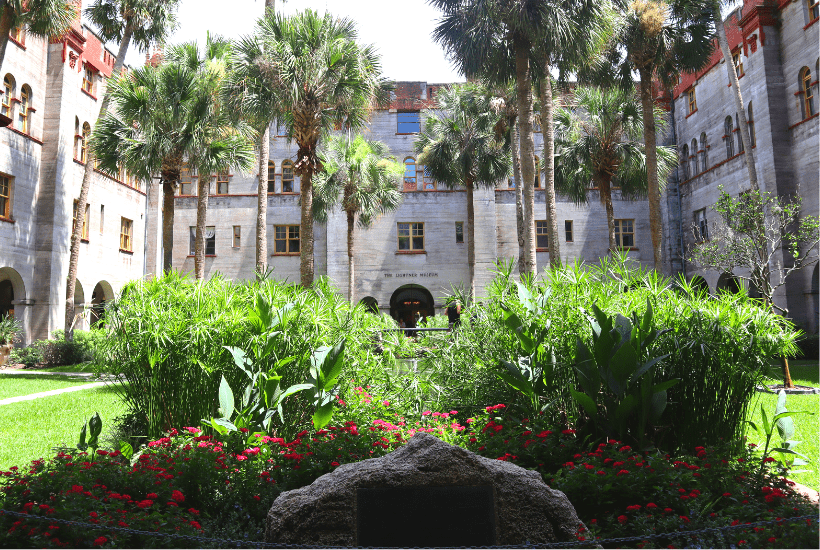 lightner museum courtyard
