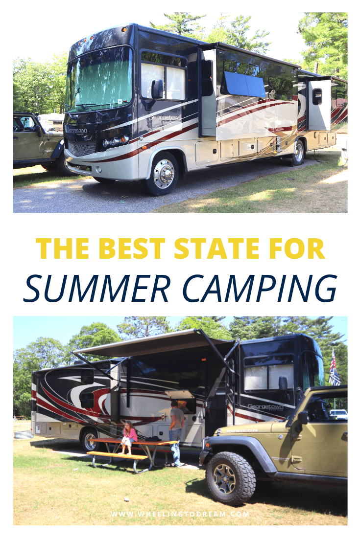 The Best State for Summer Camping