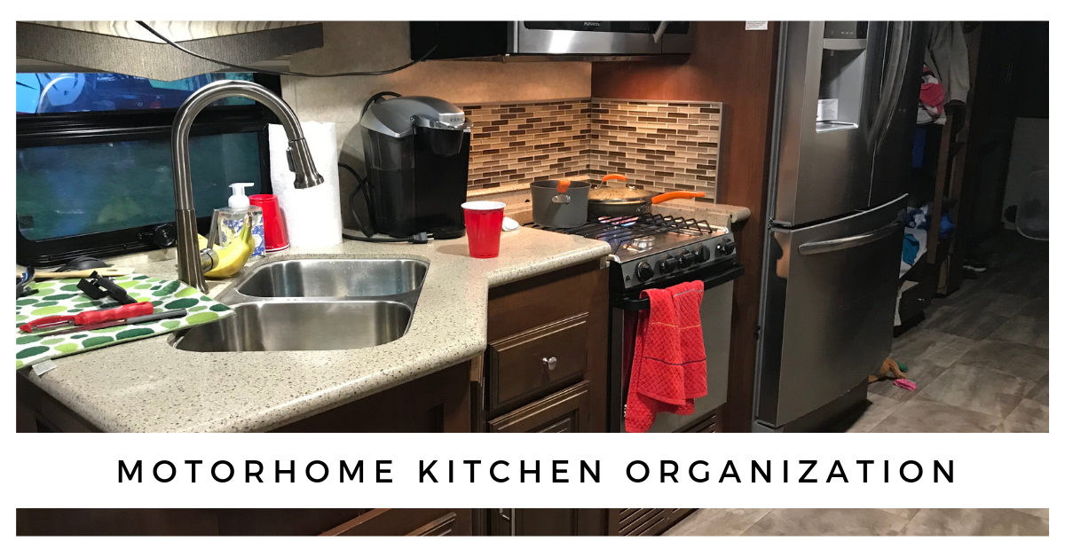Motorhome Kitchen Storage And Organization Plus Everything Else Wheeling To Dream