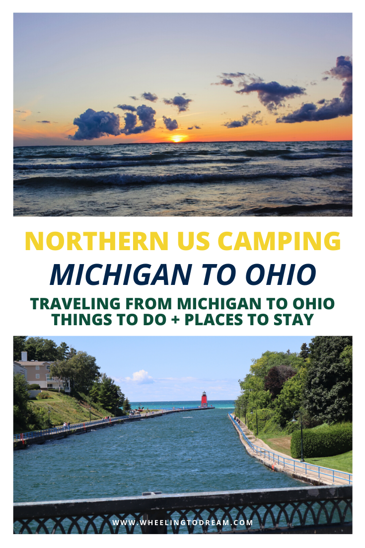 If you are traveling to Michigan you should check out our Michigan travel guide. We traveled from Northern Michigan to Traverse City, Michigan all the way over to the opposite side of the state. We have plenty of things to do in Michigan with kids. We love camping with kids in Michigan State Parks. We have plenty of options for you! #michigantravelguide #michigan #thingstodoinmichigan #traversecity #rvlife #rvliving #rvlifestyle