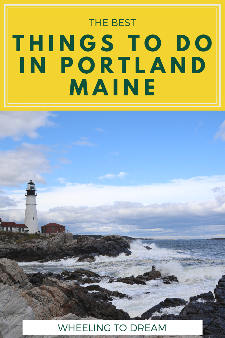 Visiting Portland Maine with Kids