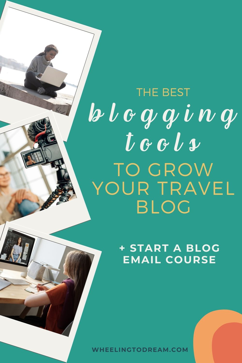 When you start a travel blog you don't want to be bogged down with little tasks that take up all of your precious time. Here are the best blogging tools and resources. There are even free blogging tool options! It's not all about spending money to make your blog work or even to make money blogging. These tools will help you to be more productive blogging and show you what is working and not. Boost your blog traffic and drive more traffic. #blogging #startablog #bloggingtools