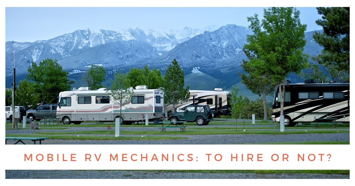 Mobile RV Repair Services: What You Need to Know